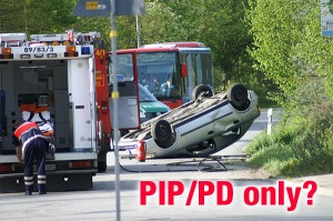 PIP/PD only policy, car insurance