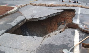 Sinkhole, Catastrophic Ground Collapse